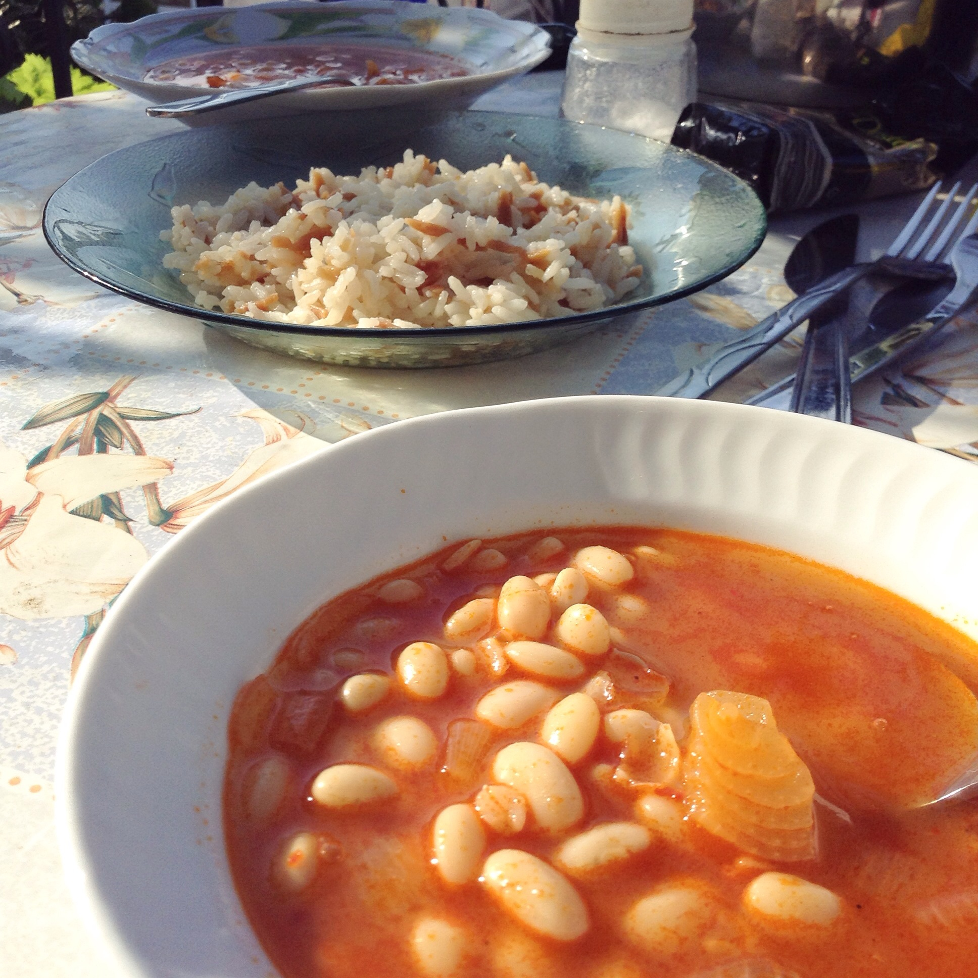 Kuru fasulye turkish white bean stew recipe living the turkish dream i really like turkish food and this is a delicious easy dish to make i posted a photo on facebook earlier this week and a few people asked for the recipe forumfinder Choice Image