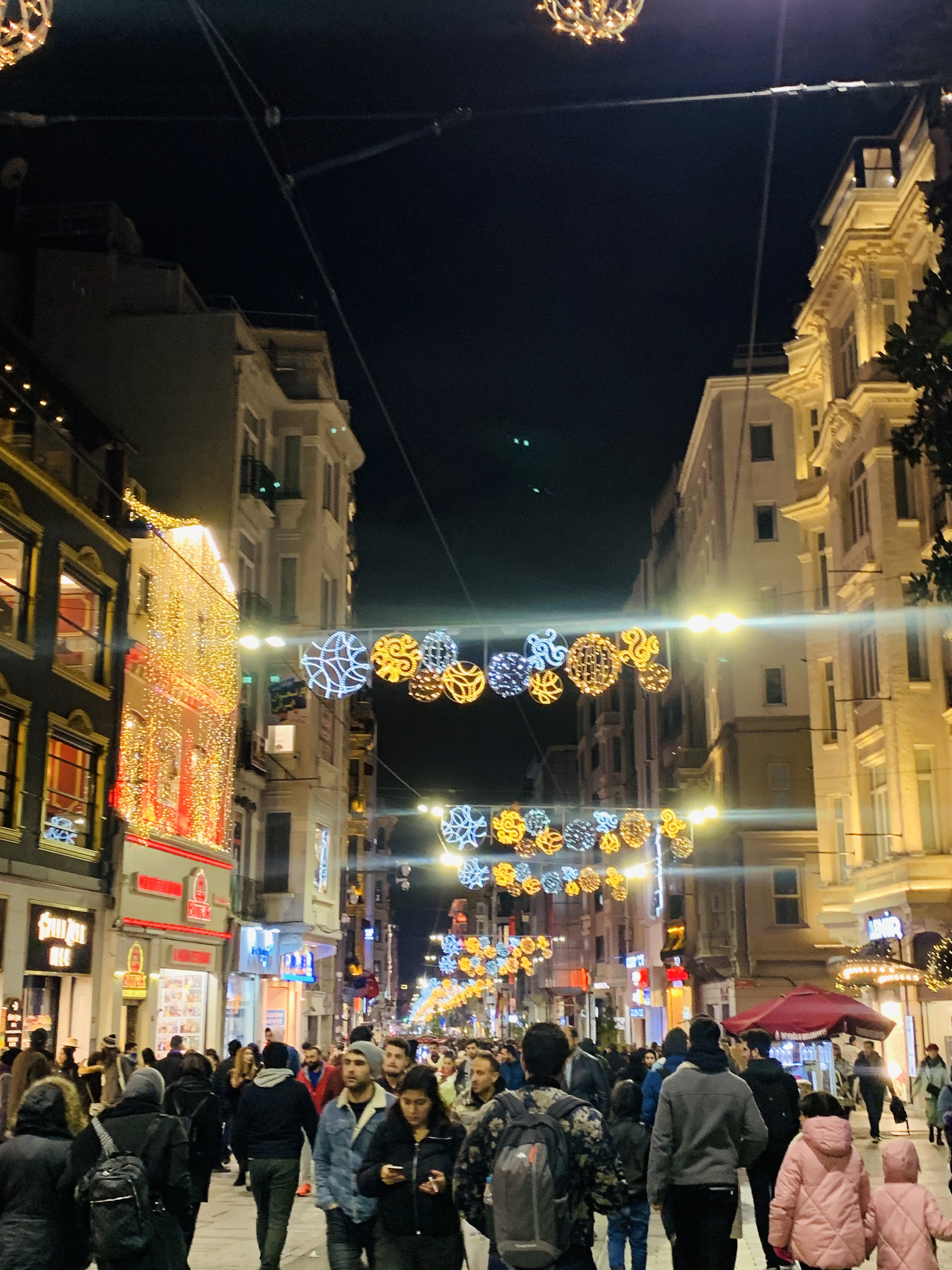 Рождество в Стамбуле .. |